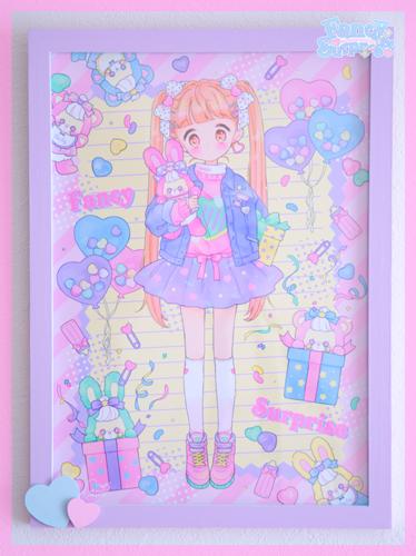 ★オリジナルフレーム&複製イラスト★16『Happy♥Surprise BOX■』 - Fancy Surprise!