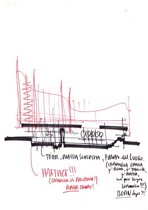 003 Drawings The New York Times Building Renzo Piano