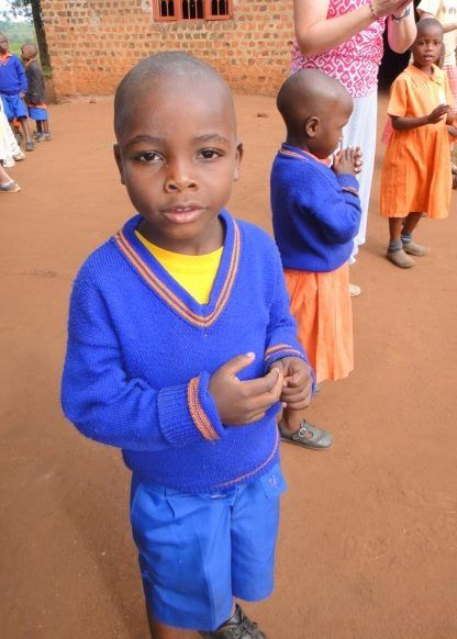 "My little ""brother"" Wilson in Mabaale, Uganda at BTCM"