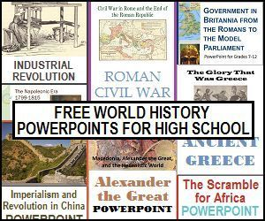 Photo of World History Powerpoints with Guided Notes for High School – Pin Hairs