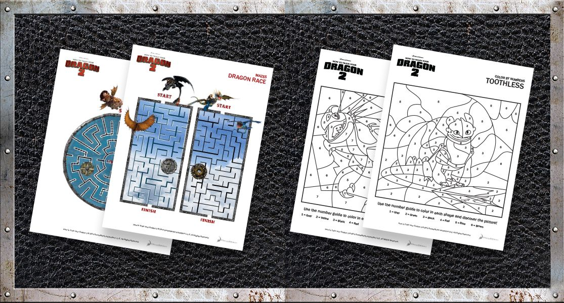 fun how to train your dragon 2 free printable activity sheets - Activity Pages Printable 2