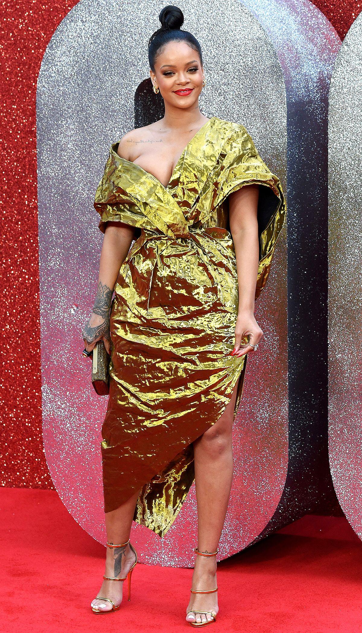 Zoe Saldana Wears Fabulous Florals, Plus More Must-See Red ...