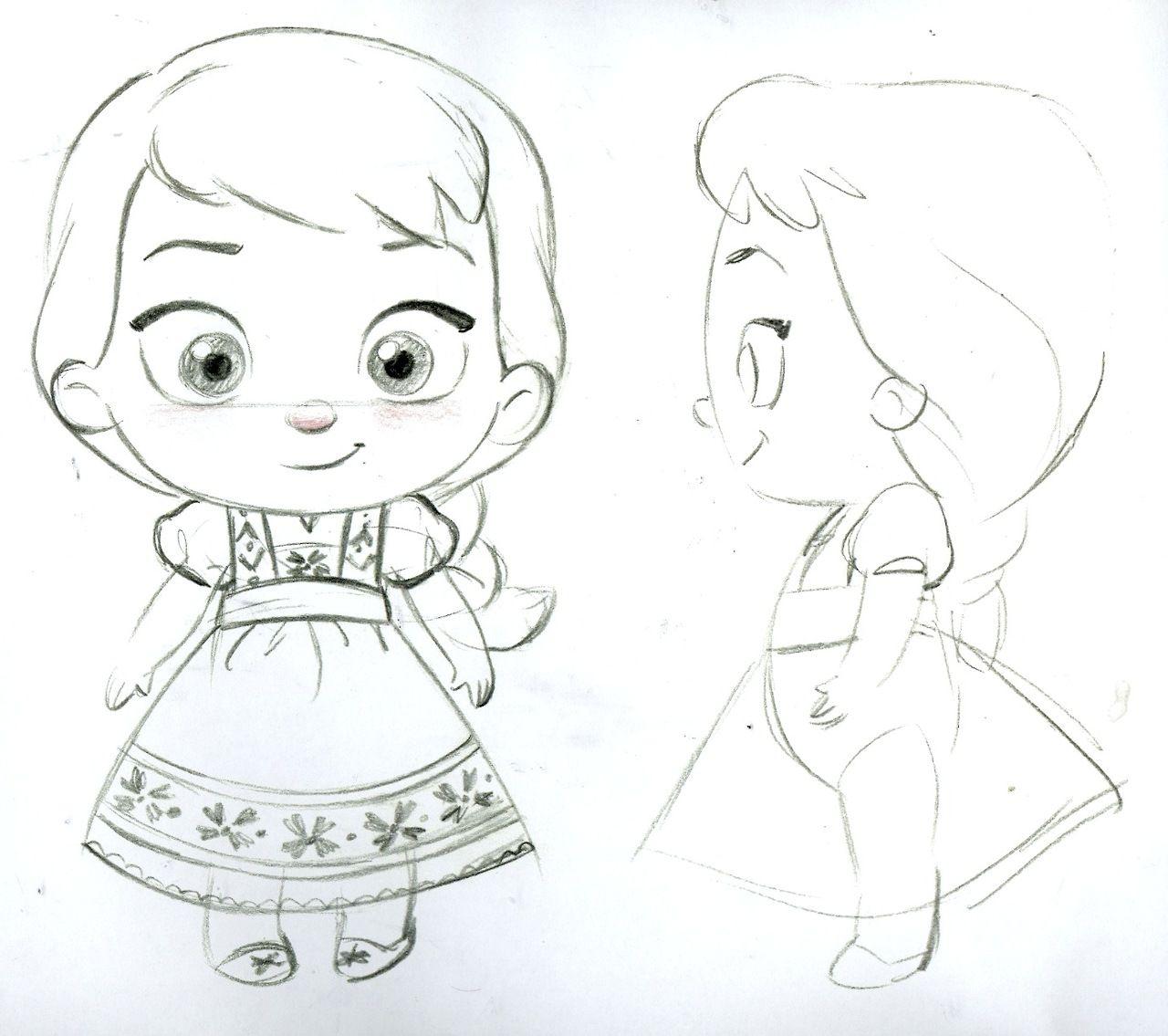Frozen Photo: Elsa toddler plush concept art