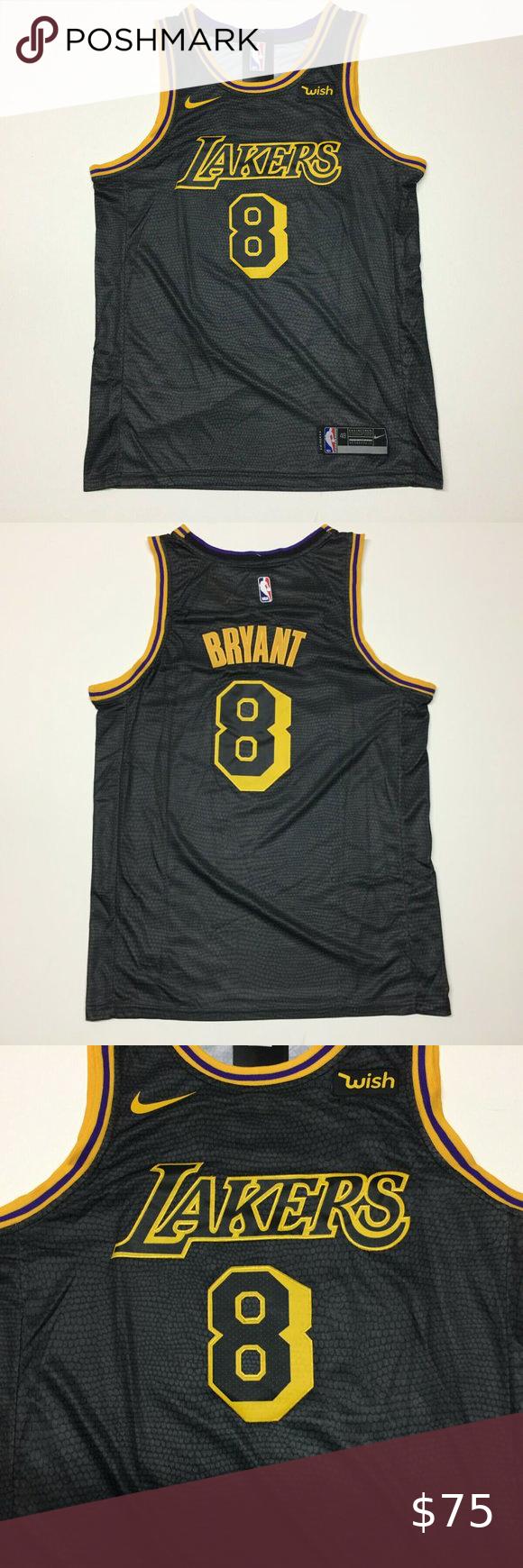 Kobe 8 Sz Xl Lakers Black Mamba City Edition In 2020 Kobe Bryant Black Mamba Black Mamba Kobe Bryant