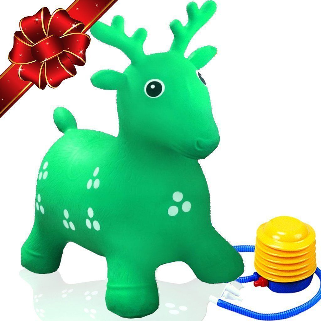 15879a8fc3c Ruffio Inflatable Bouncer Cutest Bouncy Hopper Toys for Kids. Come As  Animal Shape As Deer