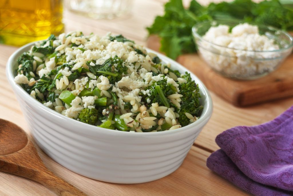 Broccoli rabe orzo salad recipe broccoli rabe