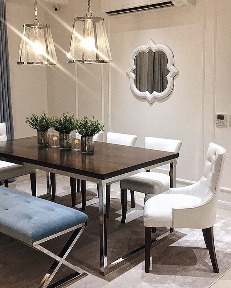 Get The Look Of Lovi Poe 39 S Charming Dining Area Rl Home