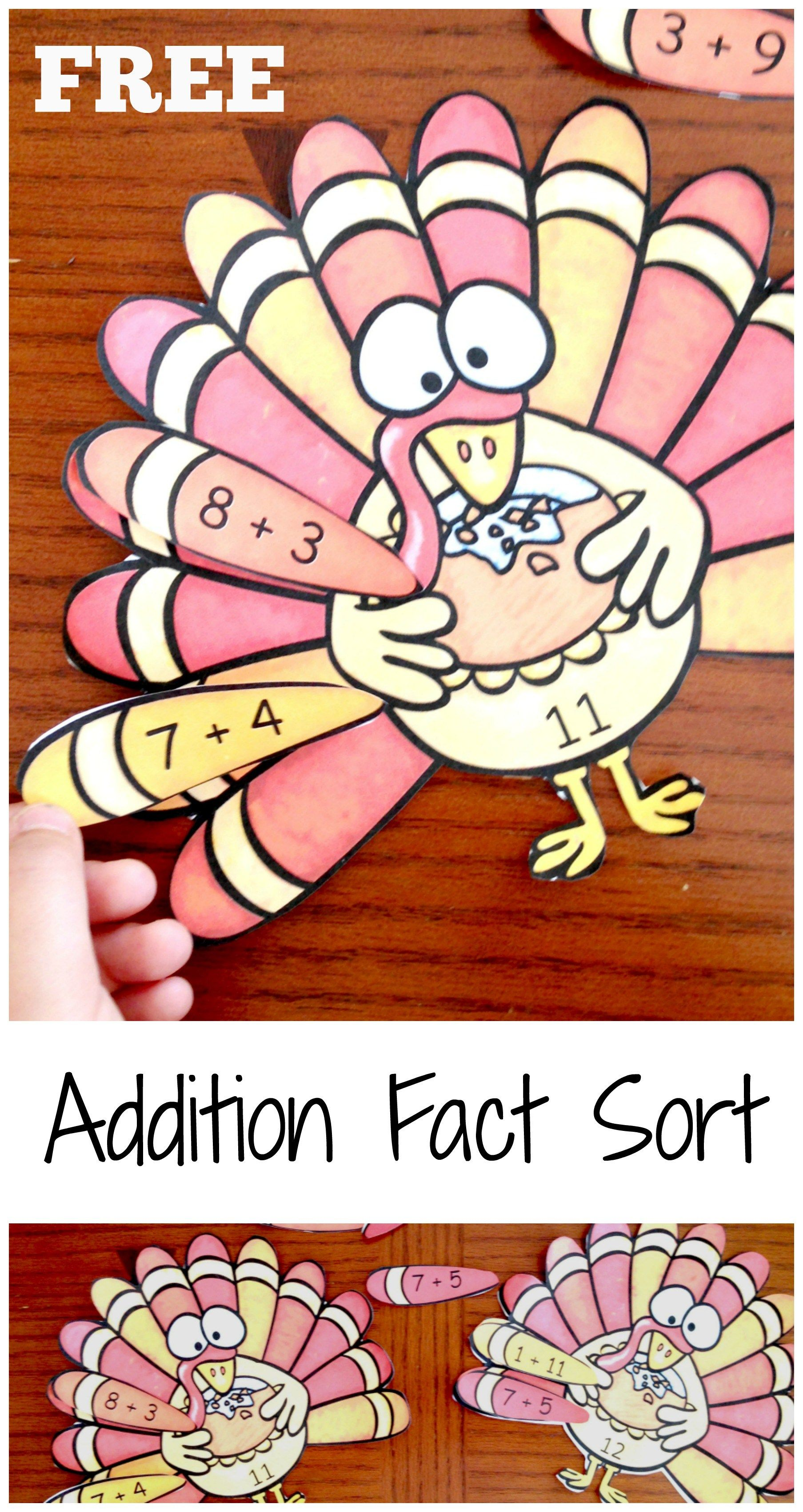 How To Memorize Math Facts With This Fun Turkey Equation