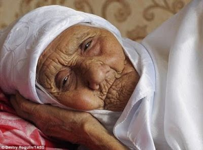 RUSSIA: 120-year-old woman claims she's the world's oldest person alive