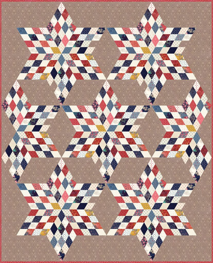 Sweet Blend By Edyta Sitar For Laundry Basket Quilts English