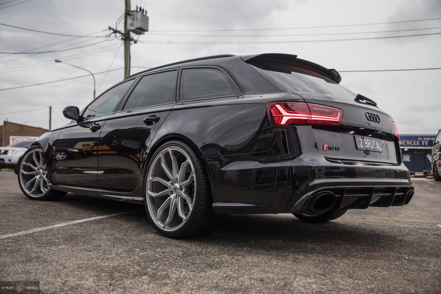 Audi RS6 C7 Black Asanti ABL-19 в 2020 г