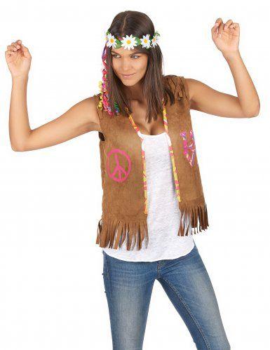 Gilet hippie femme hippie style d guisements et feta - Look hippie femme ...