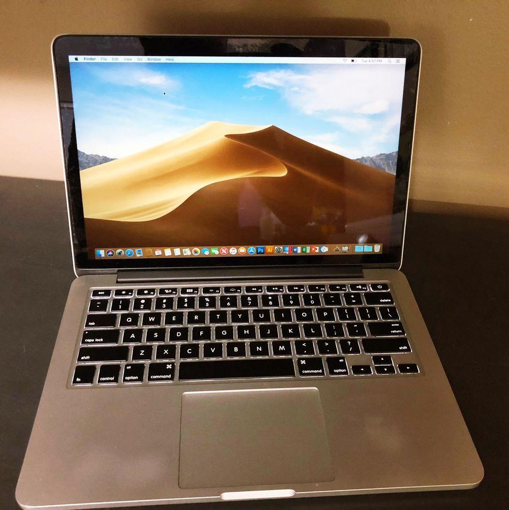 Apple Macbook Pro Retina A1502 13 3 Laptop Mf843ll A 2015 Ebay Macbook Pro Apple Macbook Pro Retina Apple Laptop
