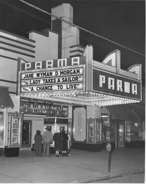 parma theater in the 1950 39 s parma theater cleveland ohio ohio river cleveland rocks. Black Bedroom Furniture Sets. Home Design Ideas