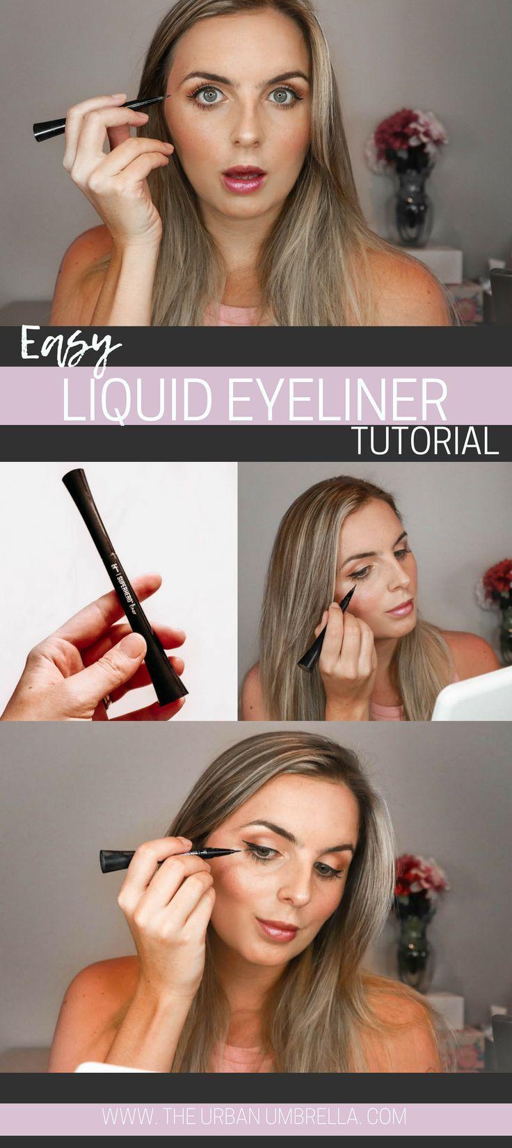How I Easily Apply Liquid Eyeliner Eyeliner for
