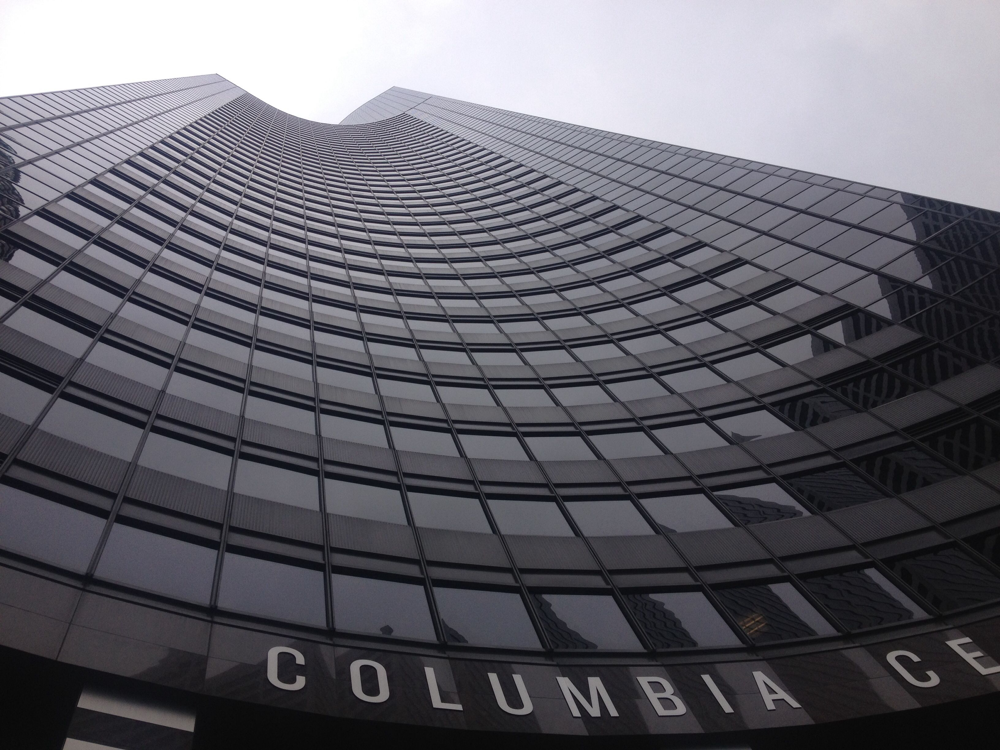 Columbia Building. The tallest building is Seattle.