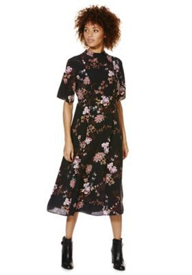 Buy F&F Oriental Floral Print Midi Dress from our Women's New In range - Tesco