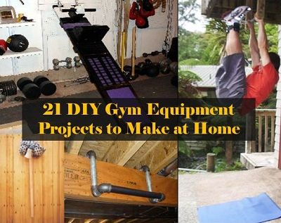 21 diy gym equipment projects to make at home  diy gym