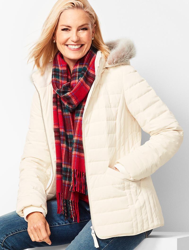 Down Puffer Jacket Talbots Jackets Casual Winter Coat Puffer Jackets [ 1057 x 800 Pixel ]