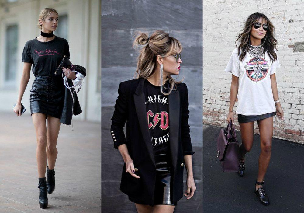 Rocker Chic: 15 inspirações para arrasar no look | Rocker chic ...