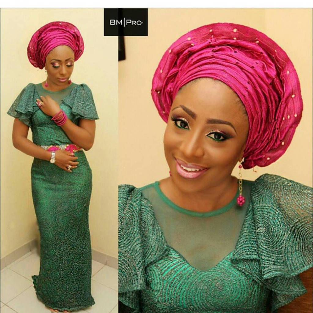 Lace dress nigeria  Nigerian Lace Styles For Beautiful Ladies  Nigerian Lace Styles