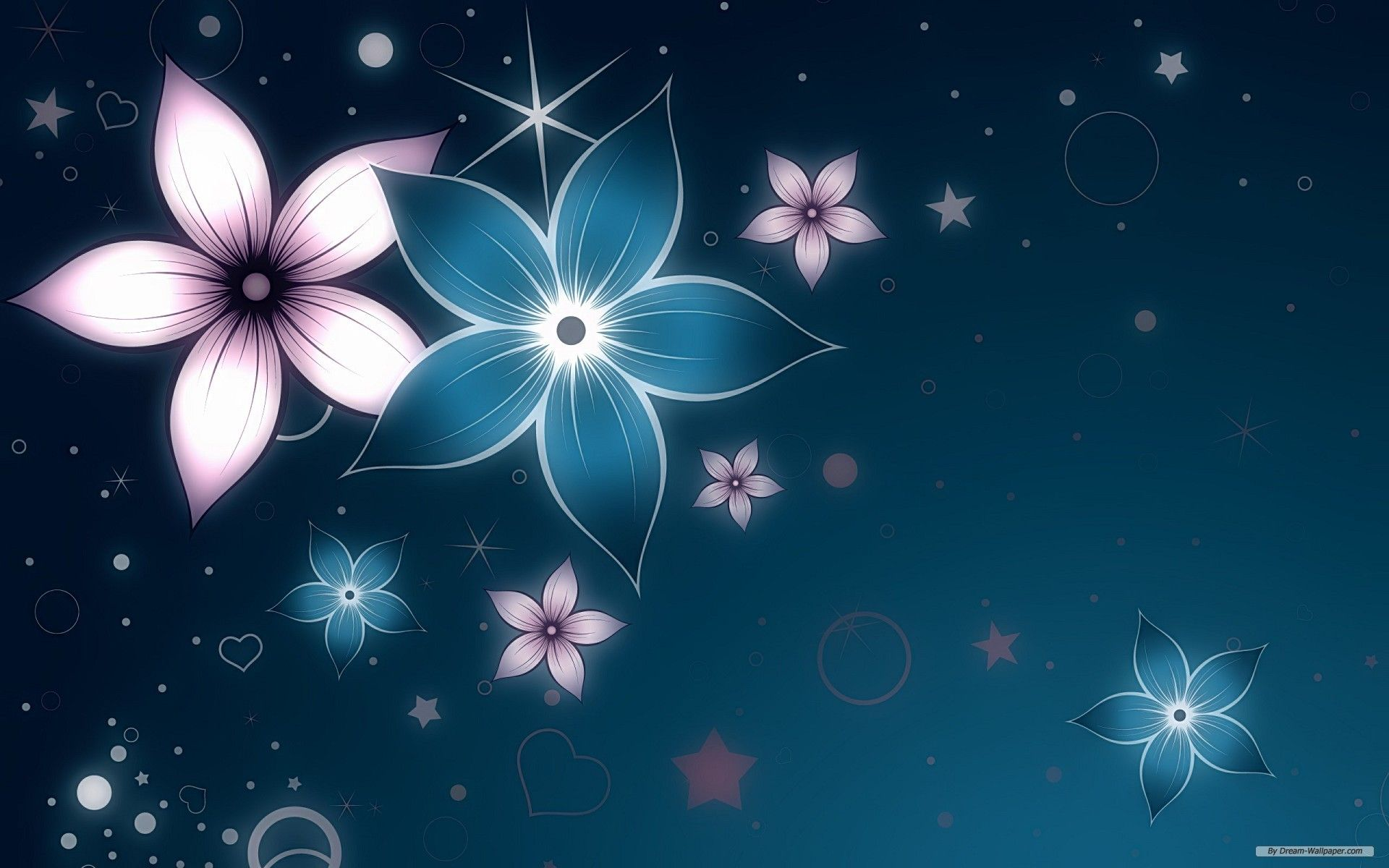 Fantasy Flowers Wallpaper Abstract Flowers Cool Background Designs Abstract Wallpaper
