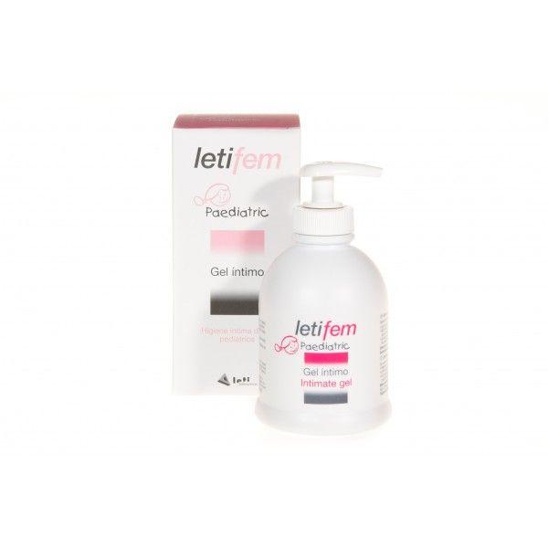 157438 LetiFem Gel íntimo Pediátrico - 250 ml.