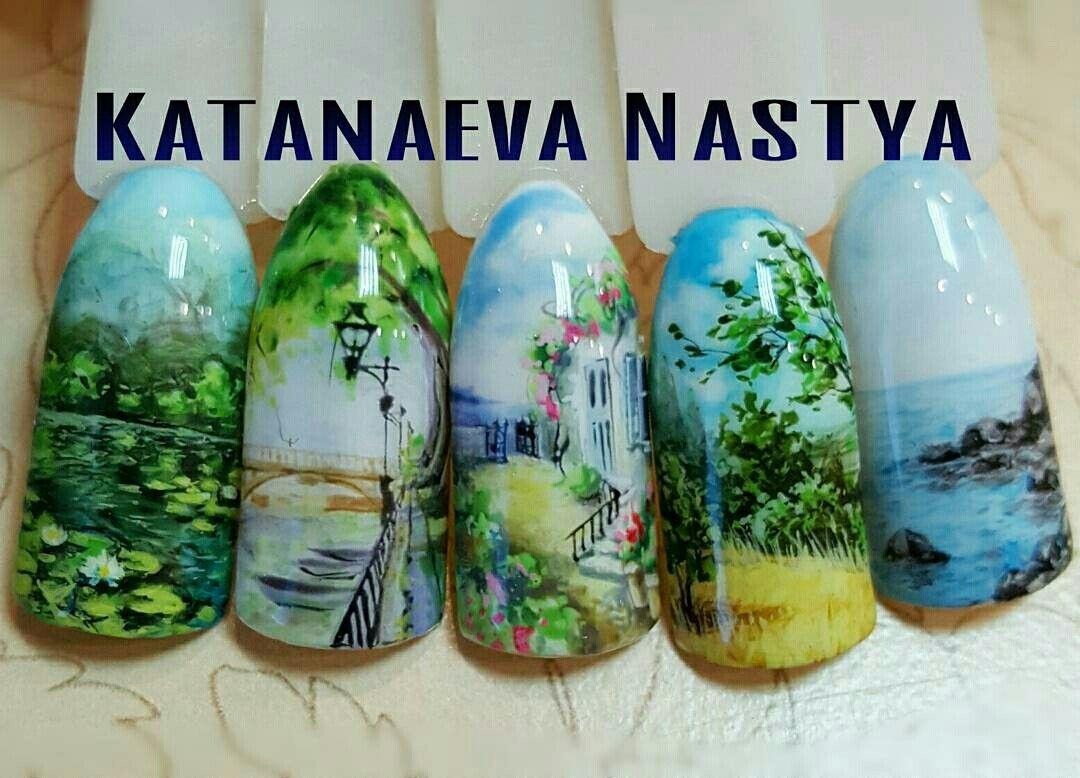 Pin de Алёна en ногтики | Pinterest | Diseños de uñas, Uñas verano y ...