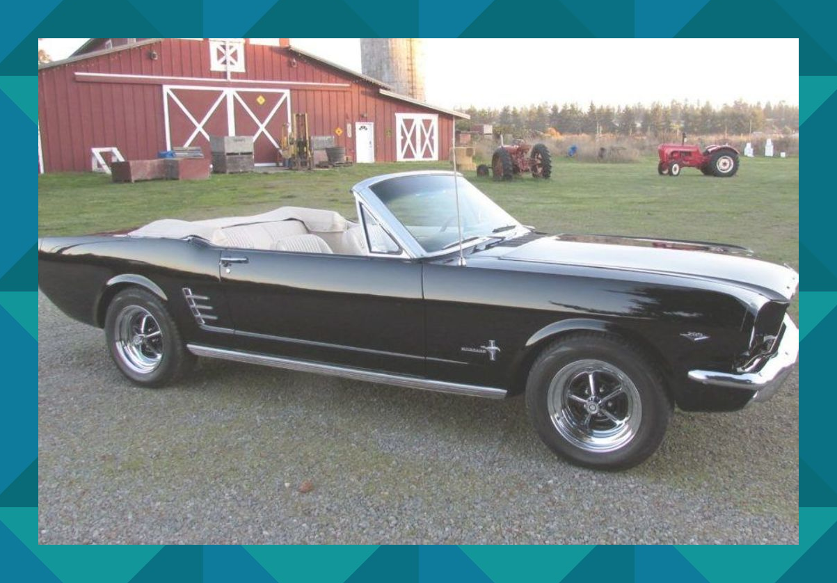 No Reserve Single Family Owned 1966 Ford Mustang Convertible