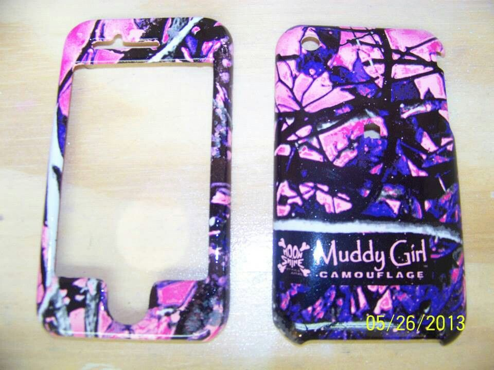 Mom S Phone Cover Dipped In Muddy Girl Camo Our Website