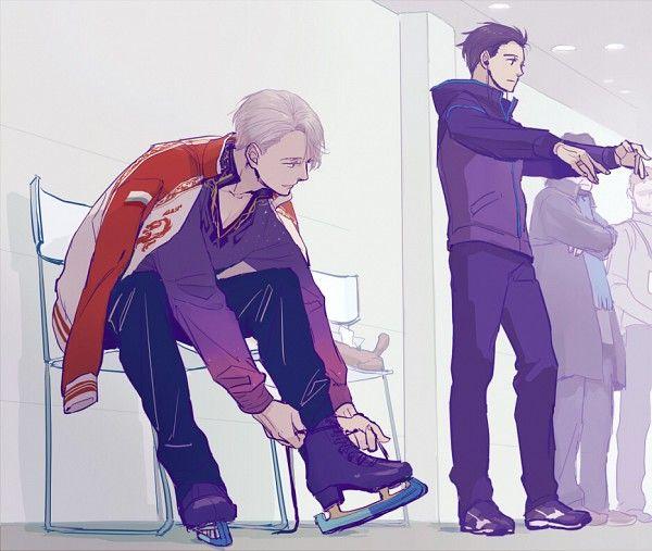 Pixiv Id 399510 Yuri On Ice Victor Nikiforov Katsuki Yuuri