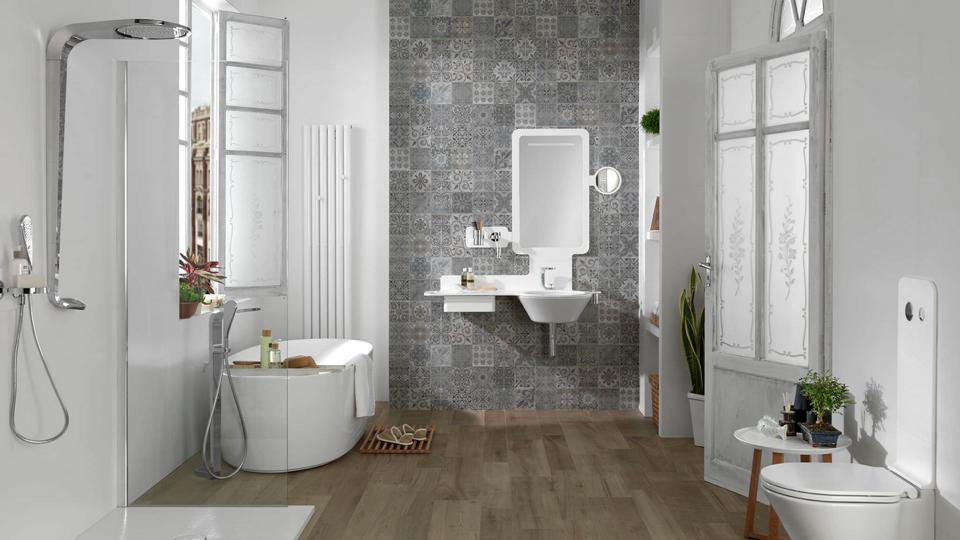salle de bain carreaux de ciment - Recherche Google | Salle de ...