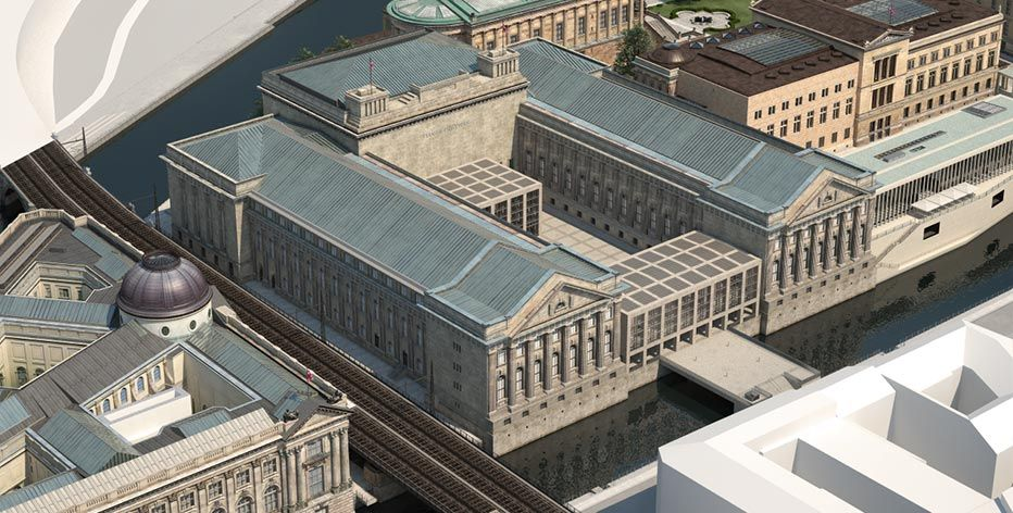 Master Plan Pergamon Museum Refurbished Sections And Expanded Since 2012 Museum Insel Museum Masterplan