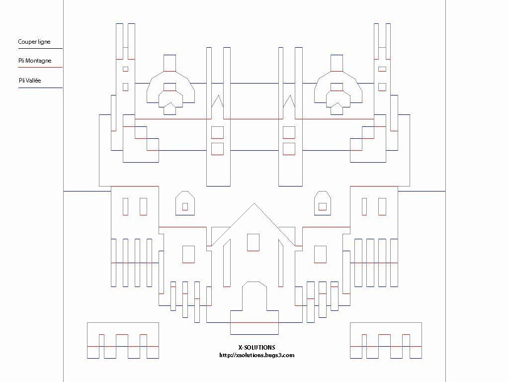 Free Kirigami Architecture Templates Kirigami Pdf Pesquisa