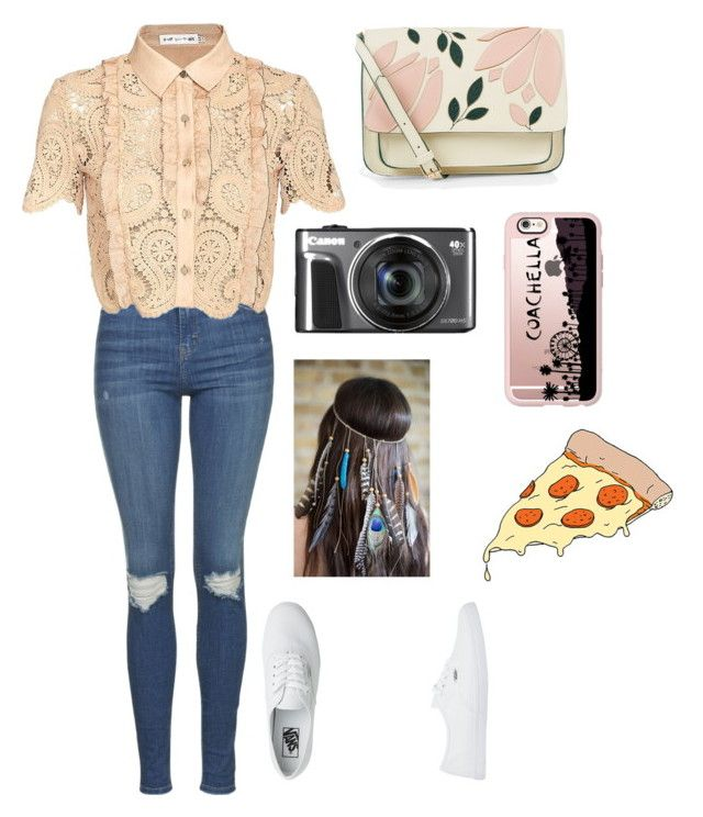 """""""Plans"""" by panda-stilinski-24-lol ❤ liked on Polyvore featuring Topshop, self-portrait, Vans, Accessorize, Casetify and Tattly"""