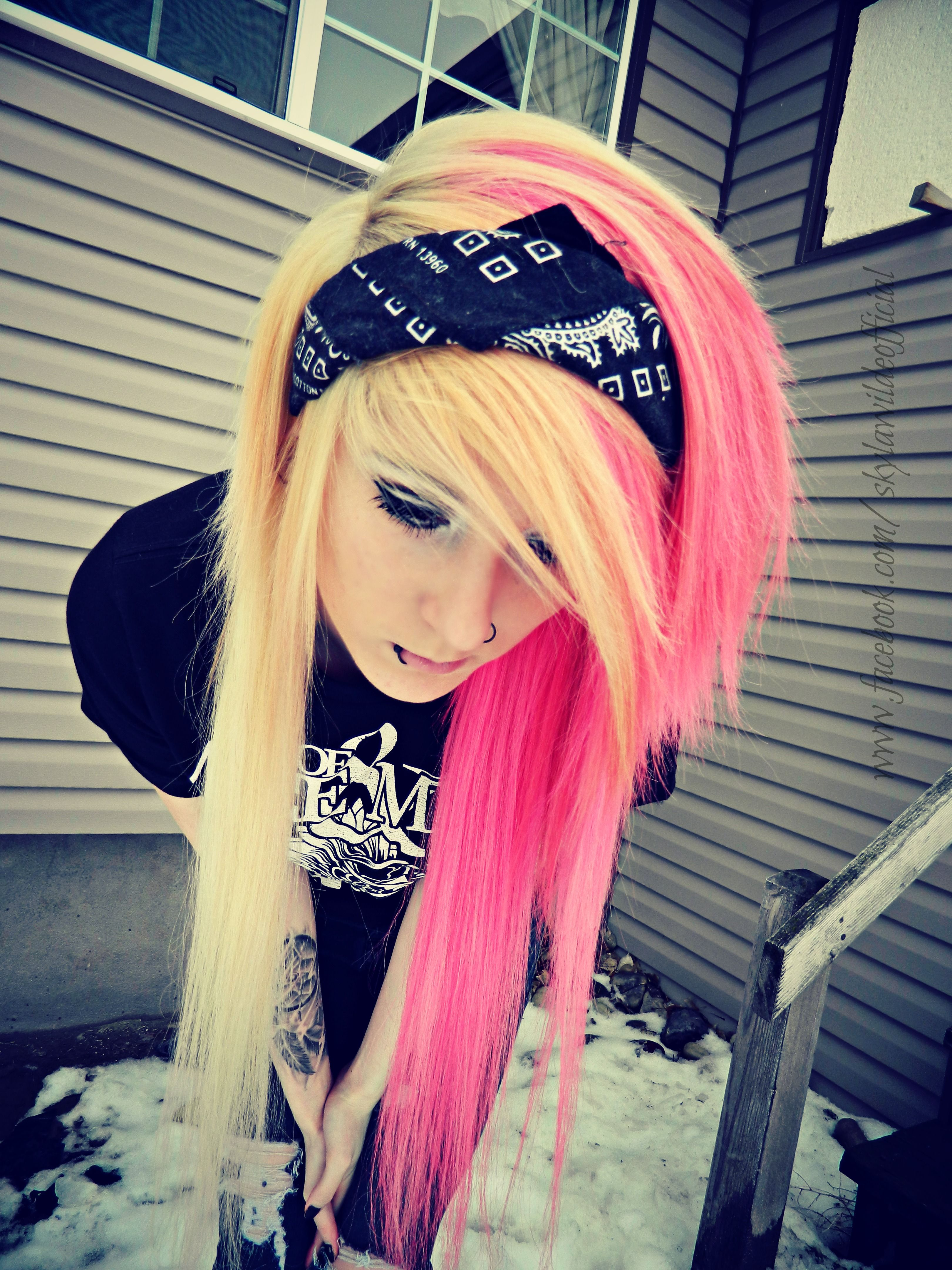 Skyla wilde hair pinterest emo emo hair and scene girls