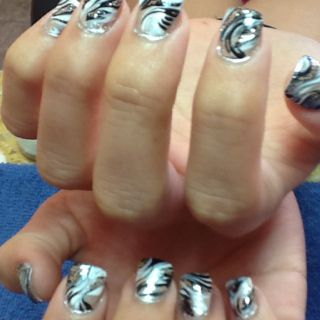 Nail design for August by Me love it:))