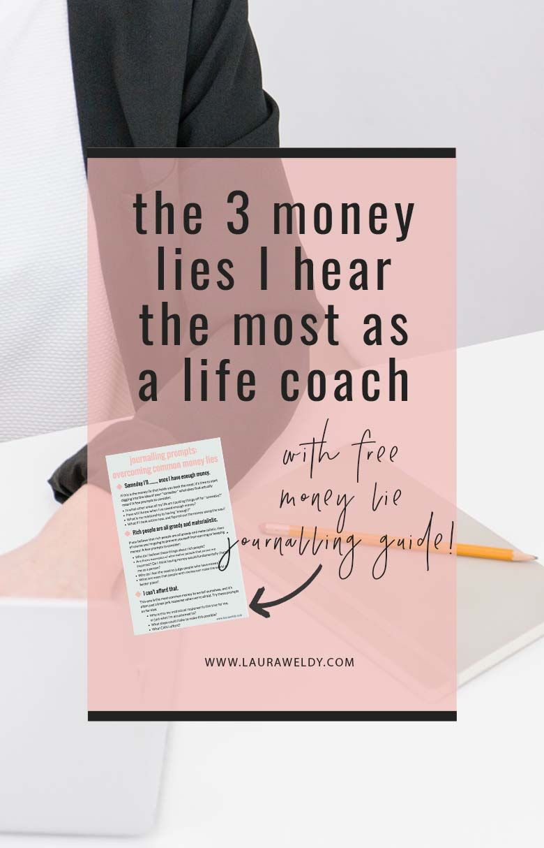 The 3 Money Lies I Hear The Most As Coach And How To Quit Their