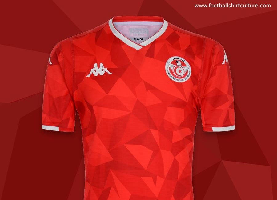 premium selection 6ab5b 9498e Tunisia 2019 AFCON Kappa Home Kit #kappa4tunisia #kappasport ...