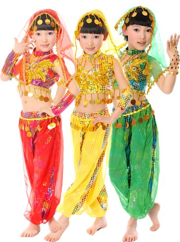 632f4d961745 Taobao Indian dance costumes Children s clothing Children s dance  performance clothing girls dancing belly dance suit Tianzhuyywvvqssrhh fro.