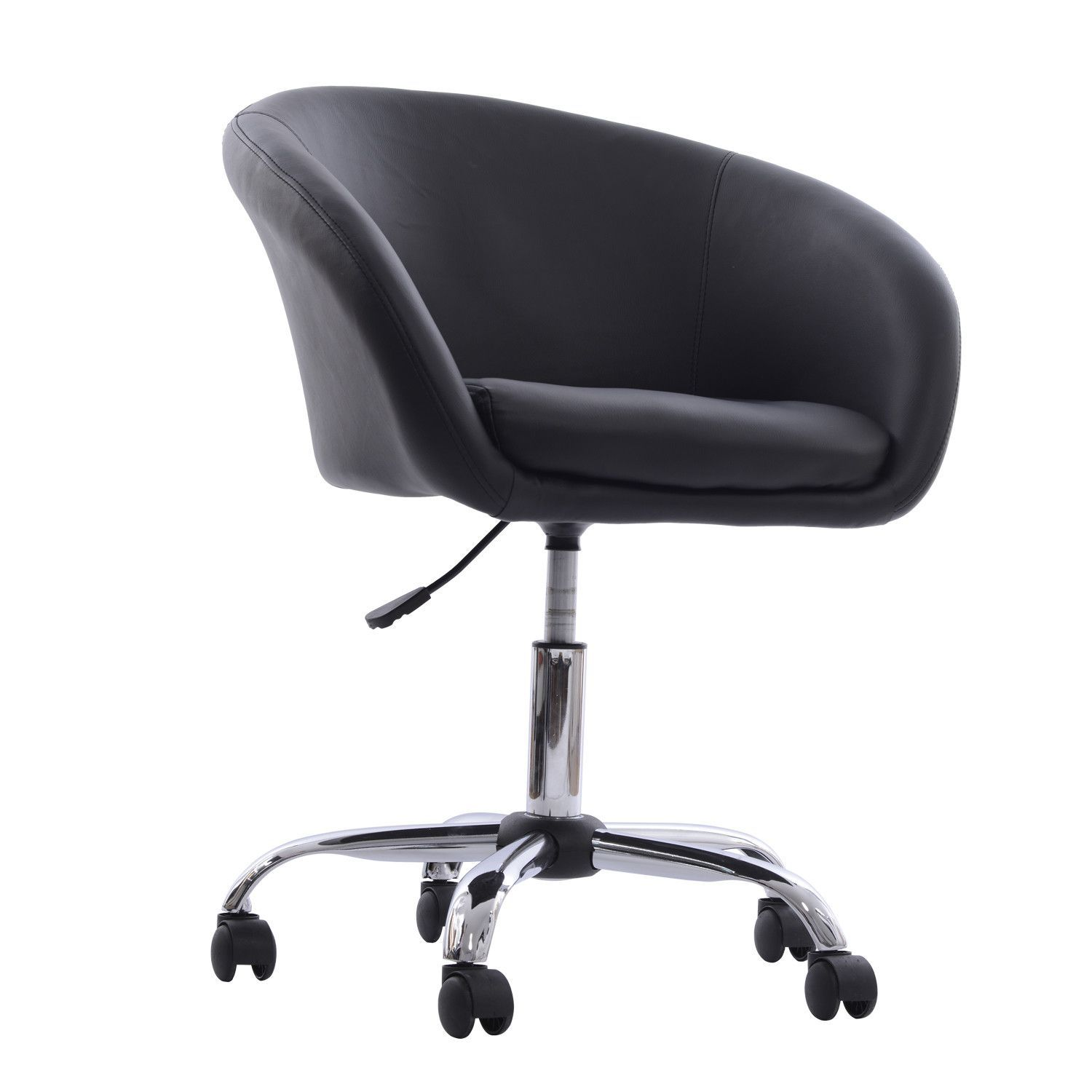 Swivel Tub Chair With Wheels Office Chair Bucket Chairs Desk Chair