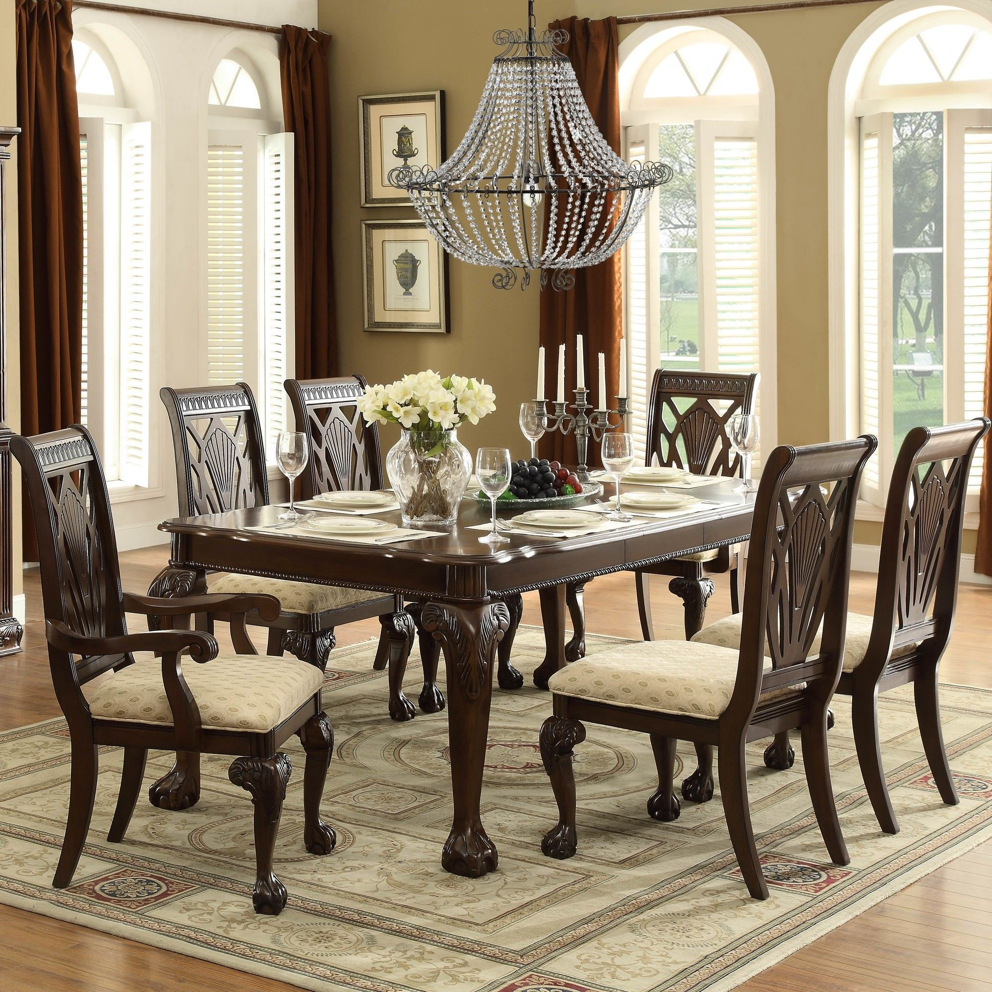 Adams Dining Table Traditional Dining Tables Dining Room Sets