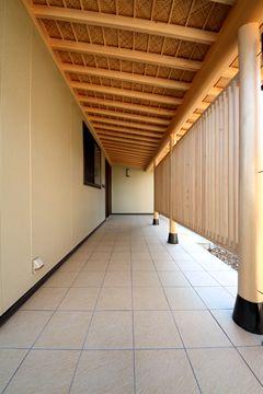 廊下 縁側 和風 家 縁側 和室