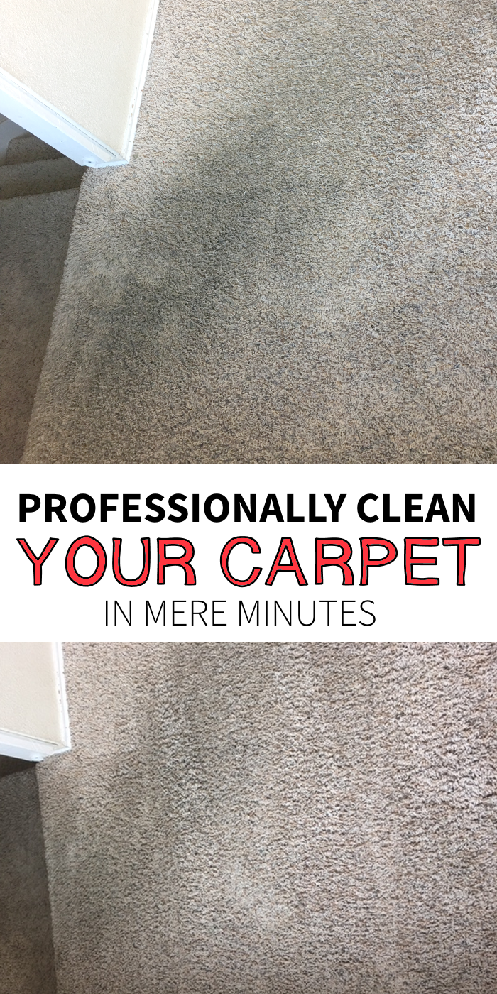 So, I bet you are just like me... You want to know how to clean the carpet - in a big way, on short notice. And that stained carpet, #RugDoctorDifference #ad