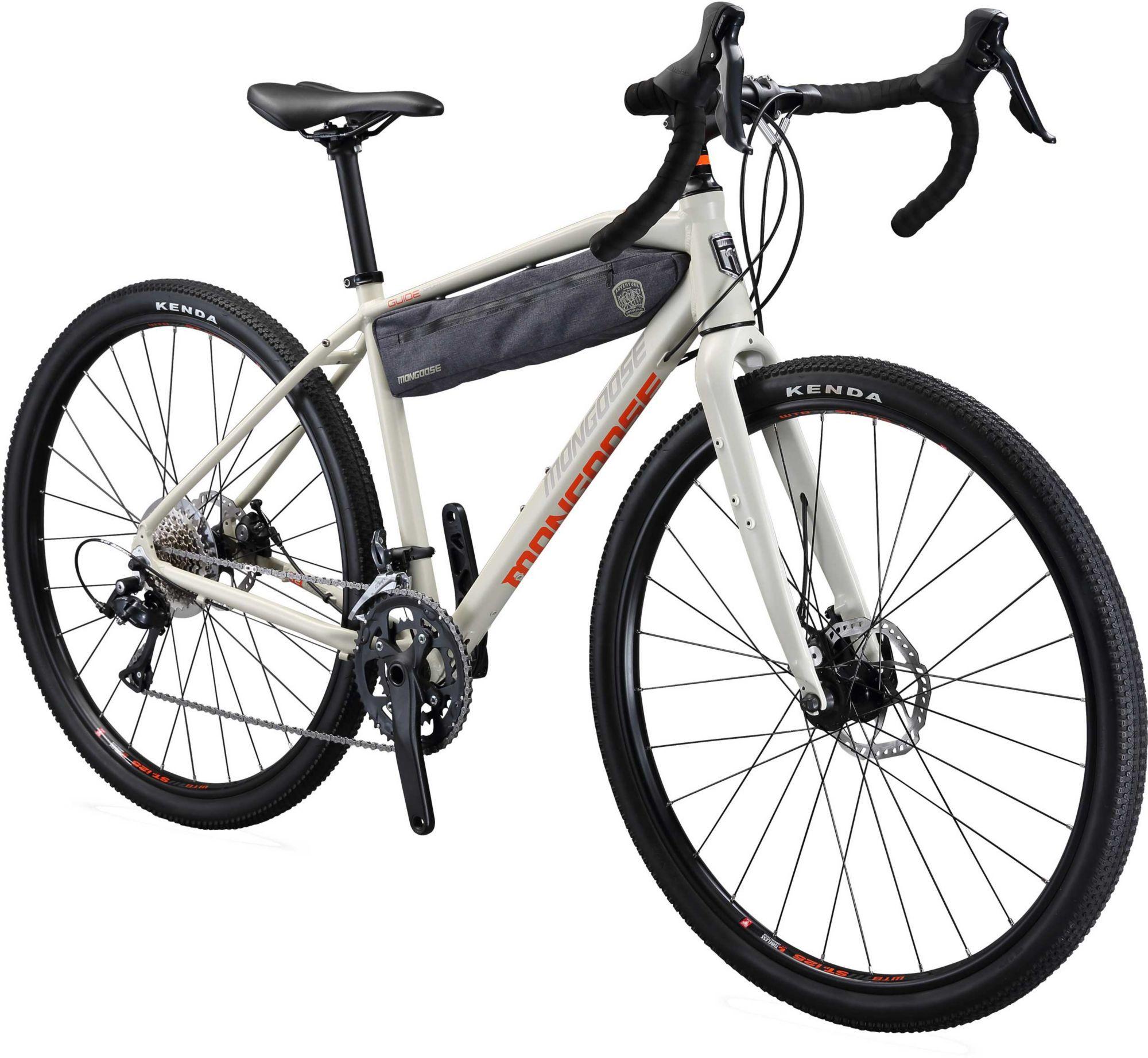 Mongoose Men S Guide Sport Road Bike Gray Bicycle Bicycle