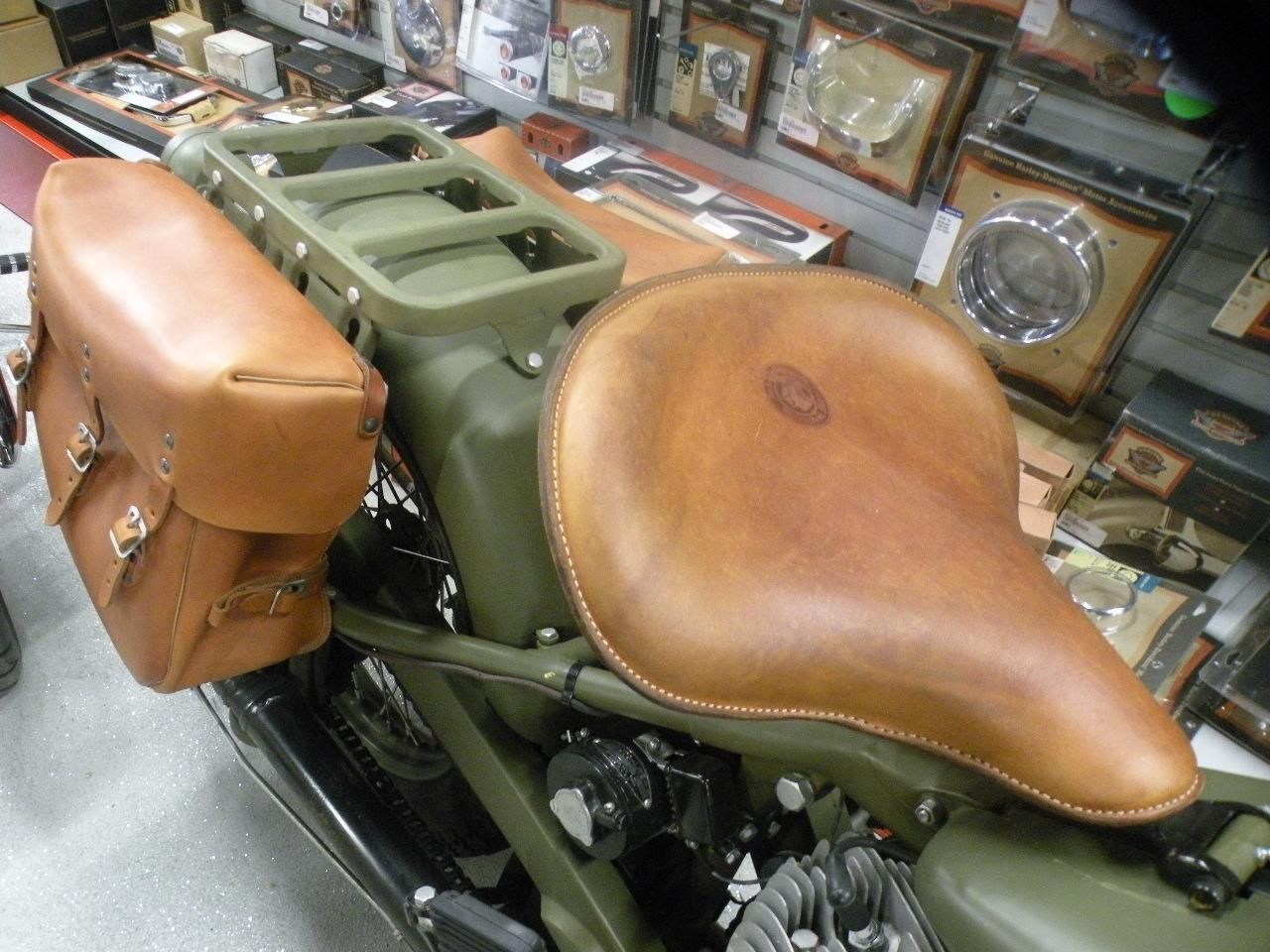 1940 Indian Motorcycle Indian Chief 340b Wwii Military