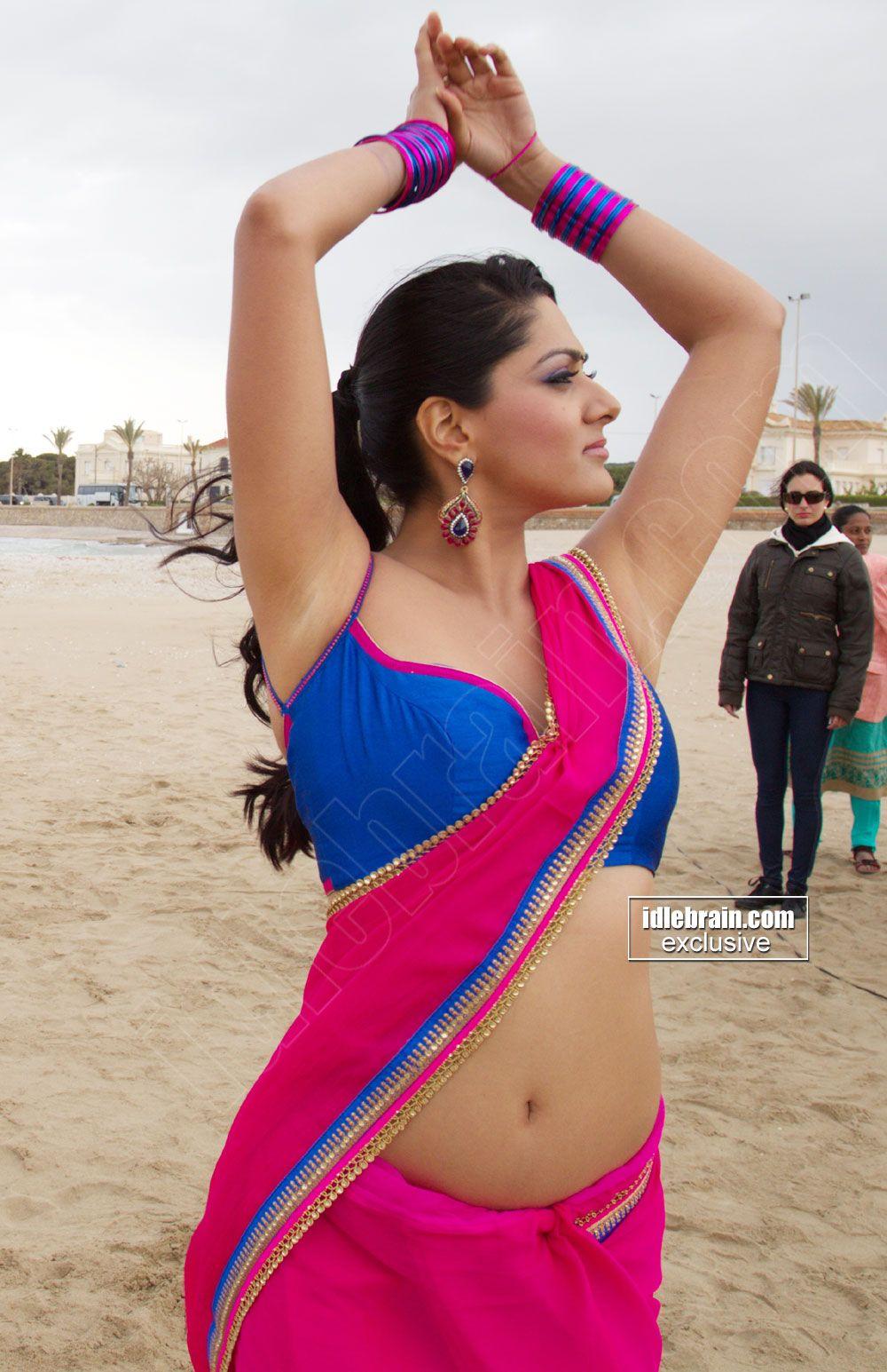 Sakshi Chowdary Hot Navel