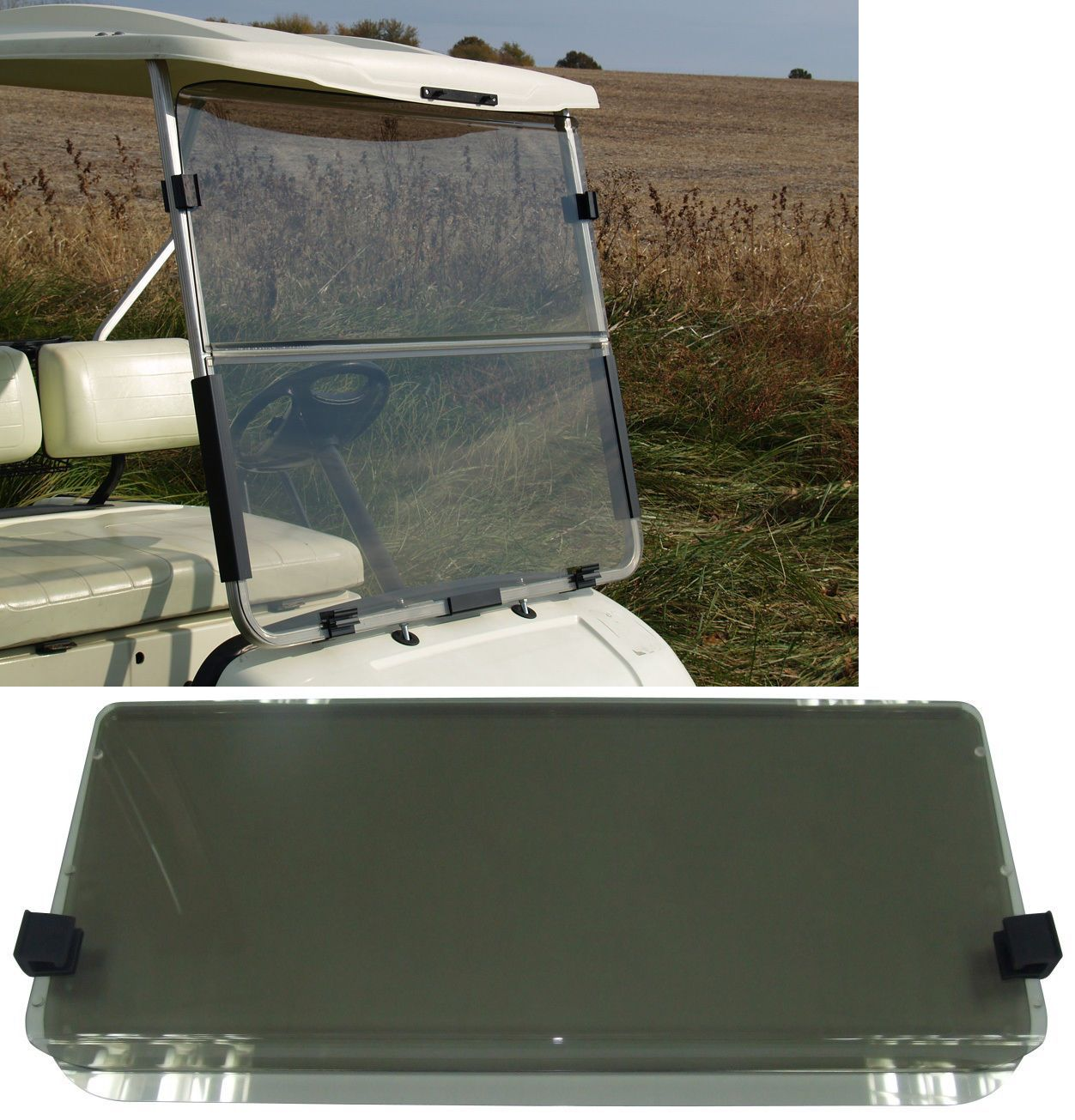 Other Golf Accessories 1514: Recpro™ Yamaha G22 Tinted Golf ... on vehicle windshield, bus windshield, go cart windshield, golf club windshield, car windshield, atv windshield, utv windshield,