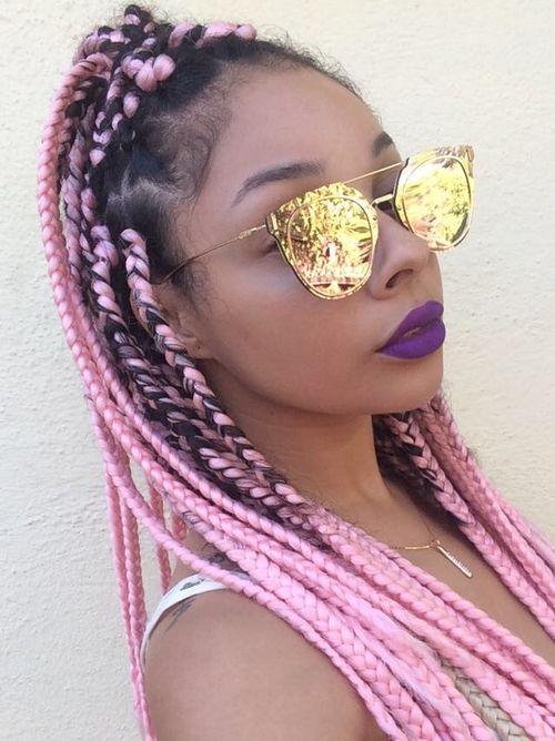 970a10507 Penteados Para Mulheres Negras, Penteados Na Moda, Óculos De Sol Espelhados,  Óculos De
