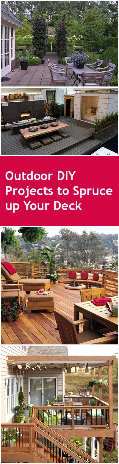 Outdoor DIY Projects to Spruce up Your Deck | Bless My Weeds